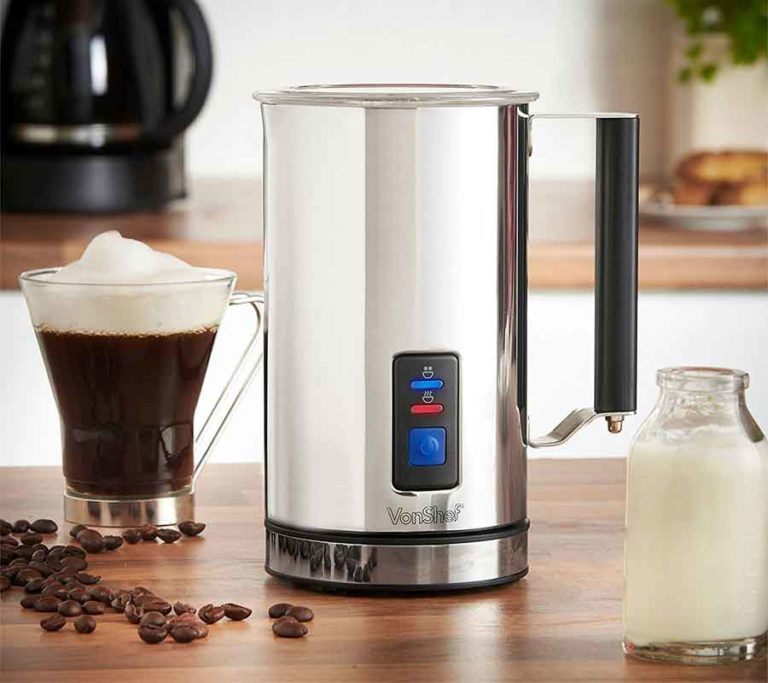 VonShef Electric Milk Frother Review – Whipping Up The Best Milk Topping
