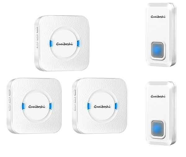 Guaiboshi Waterproof Doorbell Kit